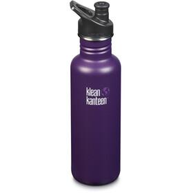 Klean Kanteen Classic Bottle Sport Cap 800ml Winter Plum